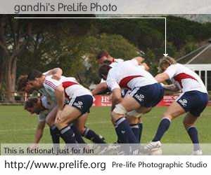 gandhi's PreLife Photo