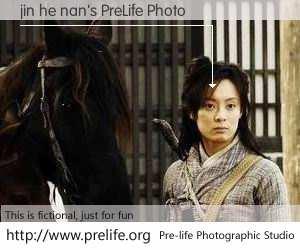 jin he nan's PreLife Photo