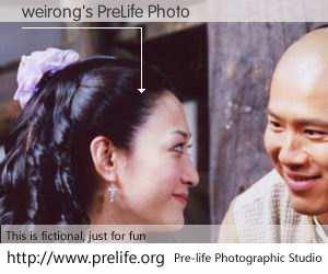 weirong's PreLife Photo